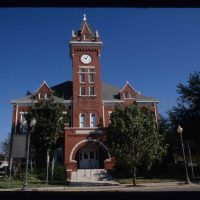 © 1999 David Fauss. Florida, Starke, Bradford County Courthouse