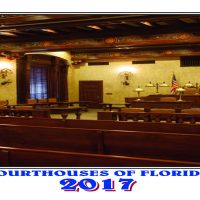 2017 Courthouses of Florida Calendar