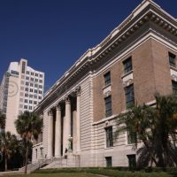 © 2007 David Fauss. Florida, Tampa, Hillsborough County Federal Courthouse, Historic