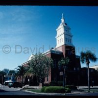 © 1998 David Fauss. Florida, Fernandina Beach, Nassau County Courthouse